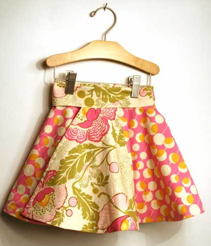 Toddler Reversible Wrap Around Skirt Tutorial | What did she do today?